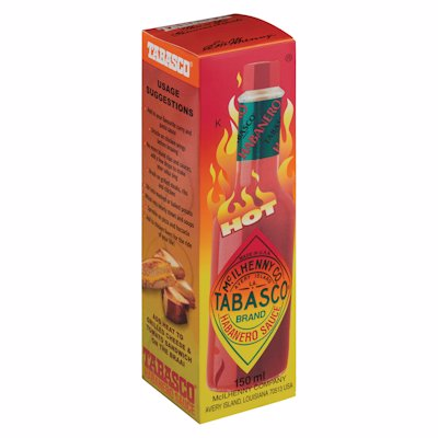 TABASCO SAUCE HABANERO 150ML