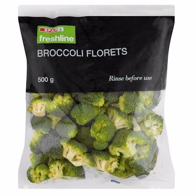 F/LINE BROCCOLI FLORETS 500GR