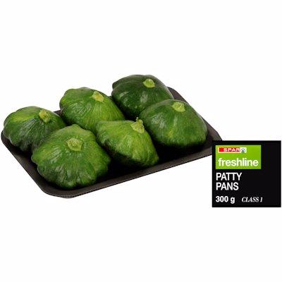 F/L PATTY PANS GREEN 300GR
