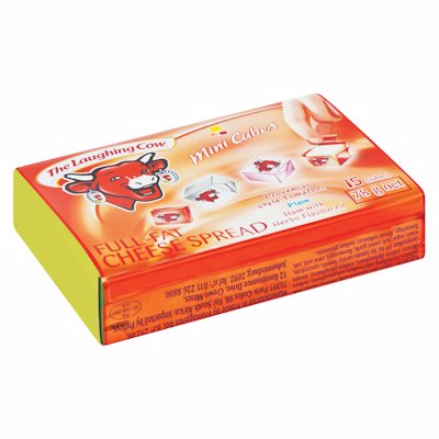 THE LAUGHING FULL FAT CHEESE SPREAD CUBES 78G