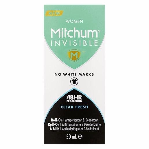 MITCHUM R/ON INVIS C/FRSH 50ML