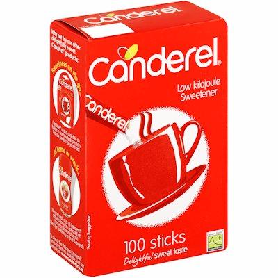 CANDEREL SWEETENER STICKS 100's