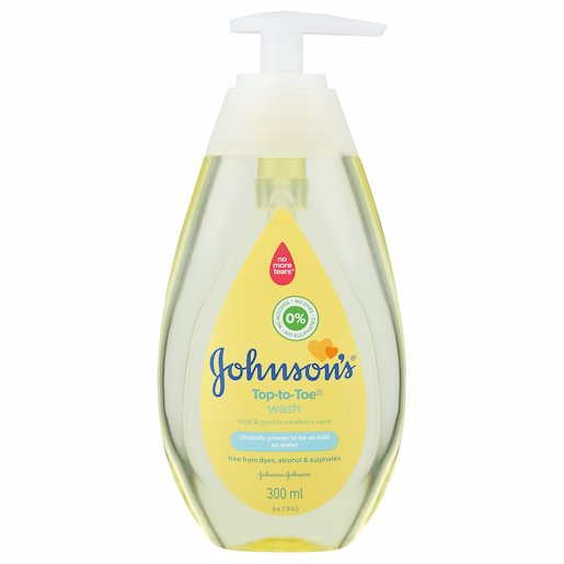 JS BABY WASH TOP TO TOE 300ML
