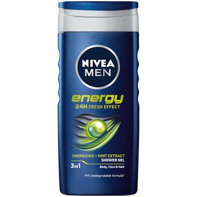 NIVEA SHOWER MEN ENERGY 250ML