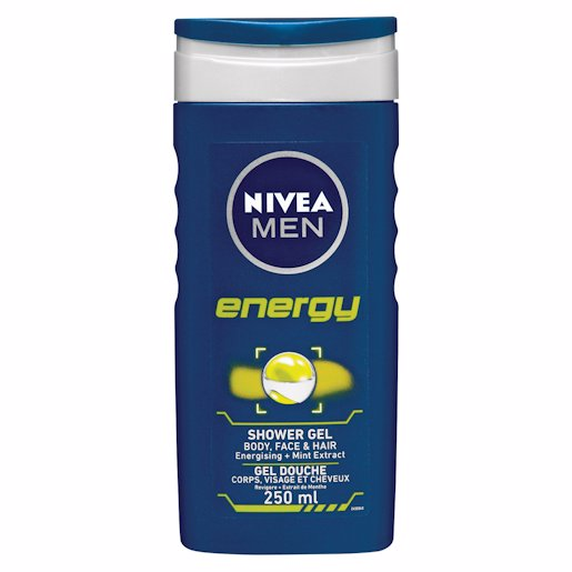 NIVEA SHOWER GEL ENRGY FOR MEN 250ML