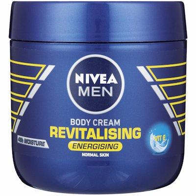 NIVEA MEN BODY CREAM REVITALISING 400ML