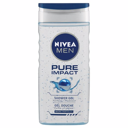 NIVEA SH/GEL PURE IMPACT 250ML
