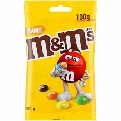 M&M PEANUT 100GR