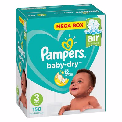 PAMPERS ACTIVE MP MIDI 150'S