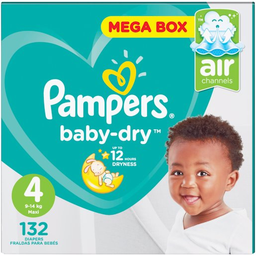PAMPERS ACTIVE MP MAXI 132'S