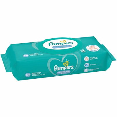 PAMPERS WIPES REF FRESH 64'S