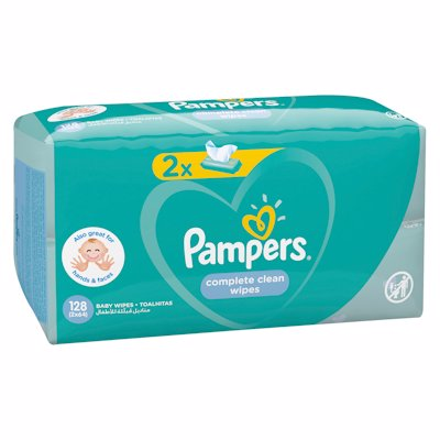 PAMPERS WIPES REF FRESH 128'S