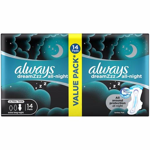 ALWAYS ULTRA NIGHT 14'S