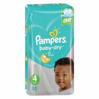 PAMPERS ACTIVE VP MAXI 50'S