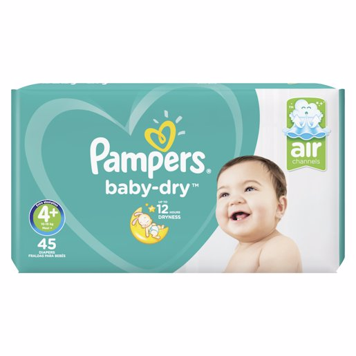 PAMPERS ACTIVE VP MAXI 4+ 45'S
