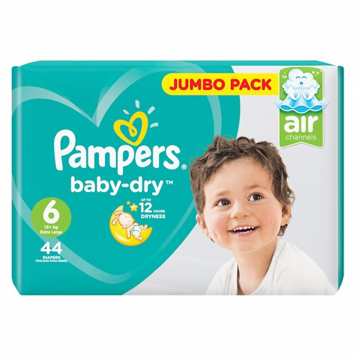 PAMPERS ACTIVE JP X/LRG 6 44'S