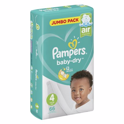 PAMPERS ACTIVE JP MAXI 4 66'S