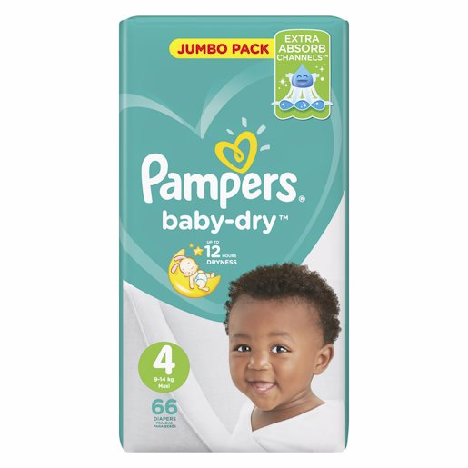 PAMPERS ACT JP MAXI 66'S