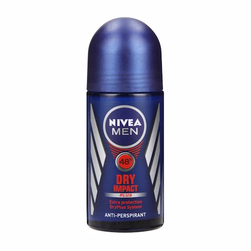 NIVEA MEN R/ON DRY IMPACT 50ML