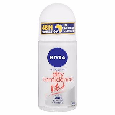 NIVEA ROLL ON DRY CONFIDENCE 50ML