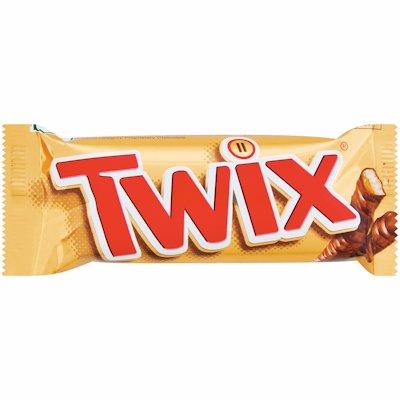 TWIX CHOC BAR 50GR