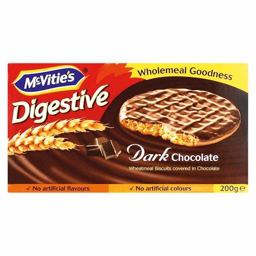 MCVITIE CHOC DIGES PLN DARK 200GR