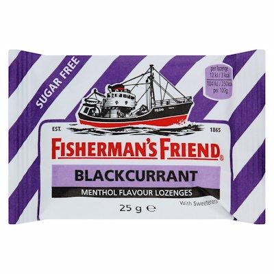 FISHERMANS BLK CURRANT 25G