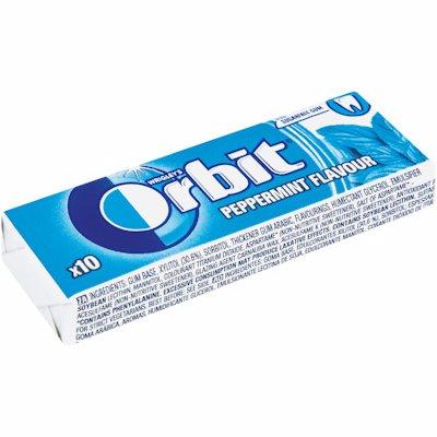 ORBIT GUM S/F PEPPERMINT 14GR
