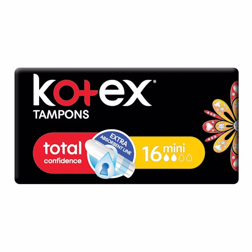 KOTEX TAMPON MINI 16'S