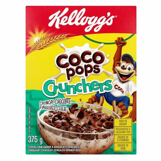 KELLOGGS COCO POPS CRUNCHERS 375GR
