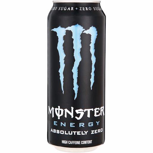 MONSTER ENERGY A/ZERO 500ML