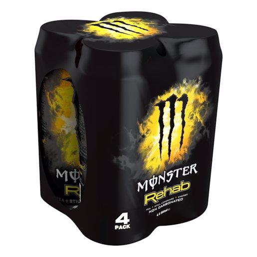 MONSTER REHAB -4 4X500ML