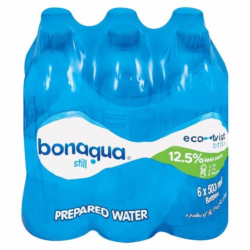 BON AQUA SP/WATER STILL 6 6X500ML
