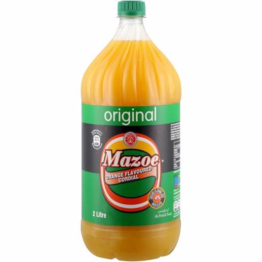 SCHWEPPES MAZOE CRUSH ORANGE 2LT