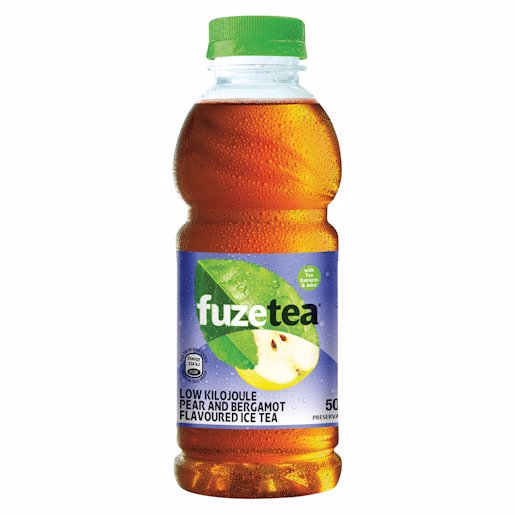 FUZE TEA RTD PEAR BERGAMO 500ML