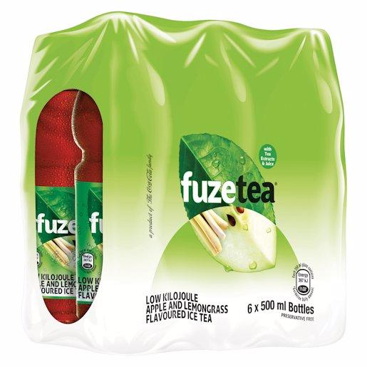FUZE TEA RTD APPLE LGRASS_6 500ML