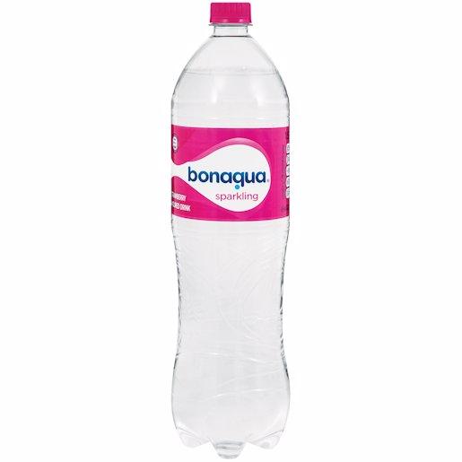 BON AQUA STRAWBERRY WATER 1.5LT