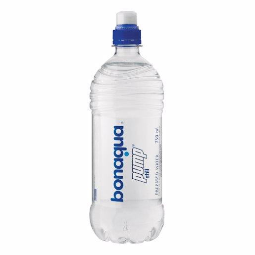BONAQUA PUMP WATER STILL 750ML
