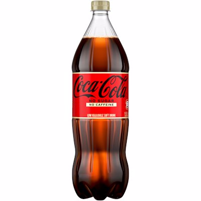 COCA COLA NO SUGAR NO CAFFEINE 1.5LT