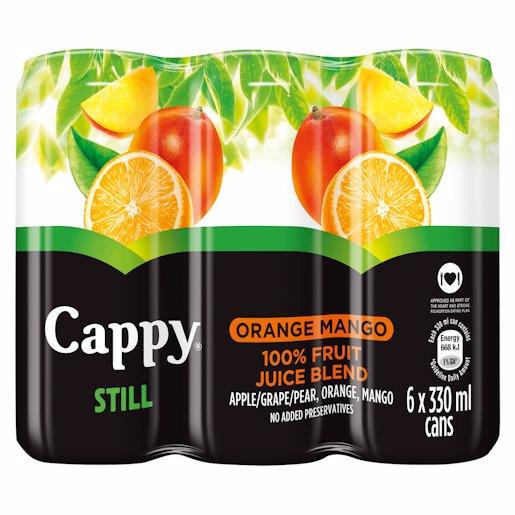 CAPPY JCE ORANGE MANGO_6 330ML