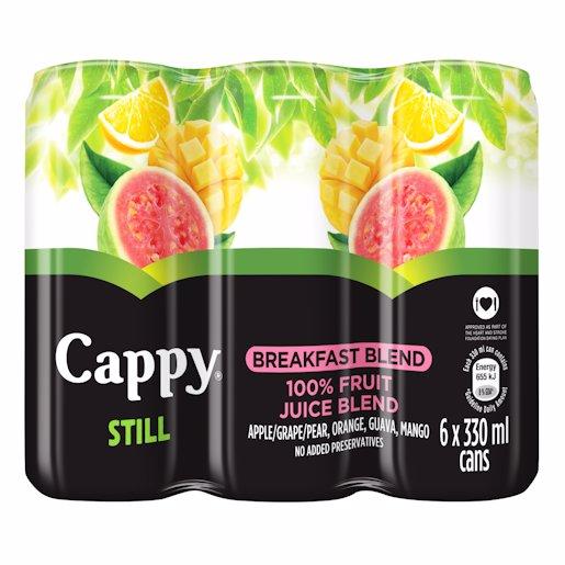 CAPPY JCE  BREAKFAST BL_6 330ML