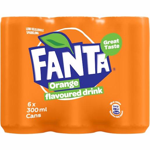 FANTA ORANGE CAN_6 300ML