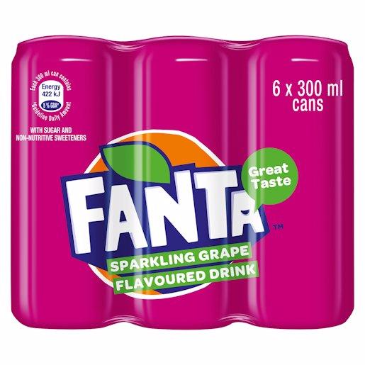 FANTA GRAPE CAN_6 300ML