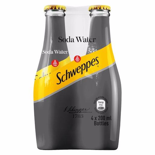 SCHWEPPES SODA WATER_4 200ML