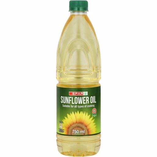 SPAR SUNFLOWER OIL 750ML