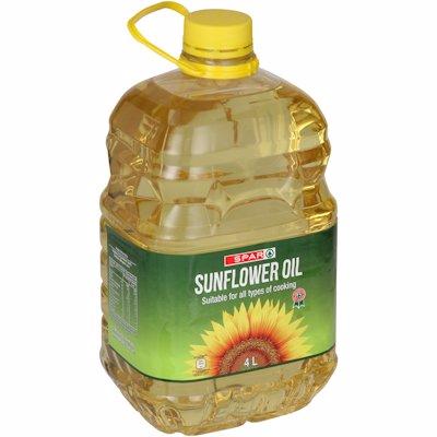 SPAR SUNFLOWER OIL 4LT