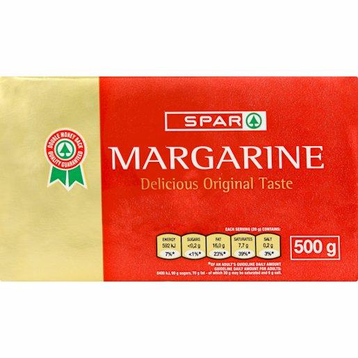 SPAR MARGARINE YELLOW BRICK 500GR