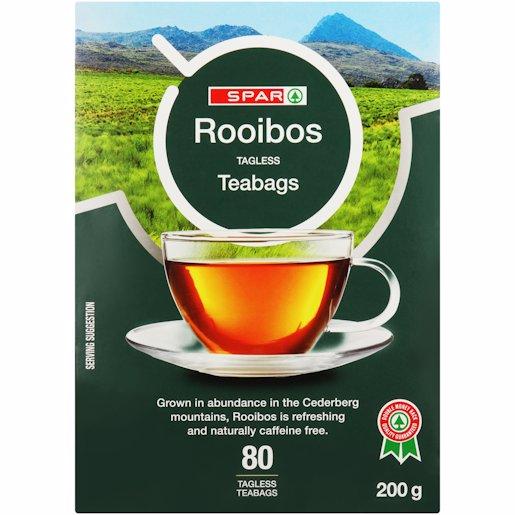 SPAR ROOIBOS TEABAGS 80'S