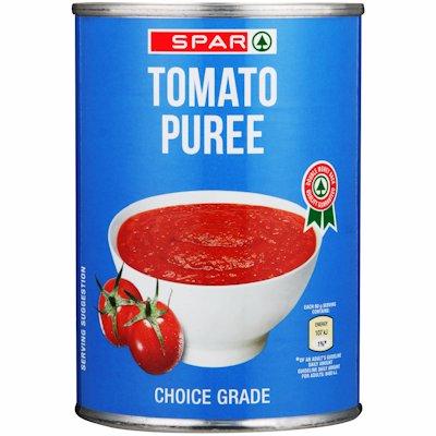 SPAR TOMATO PUREE 410GR