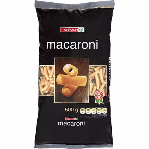 SPAR MACARONI 500GR